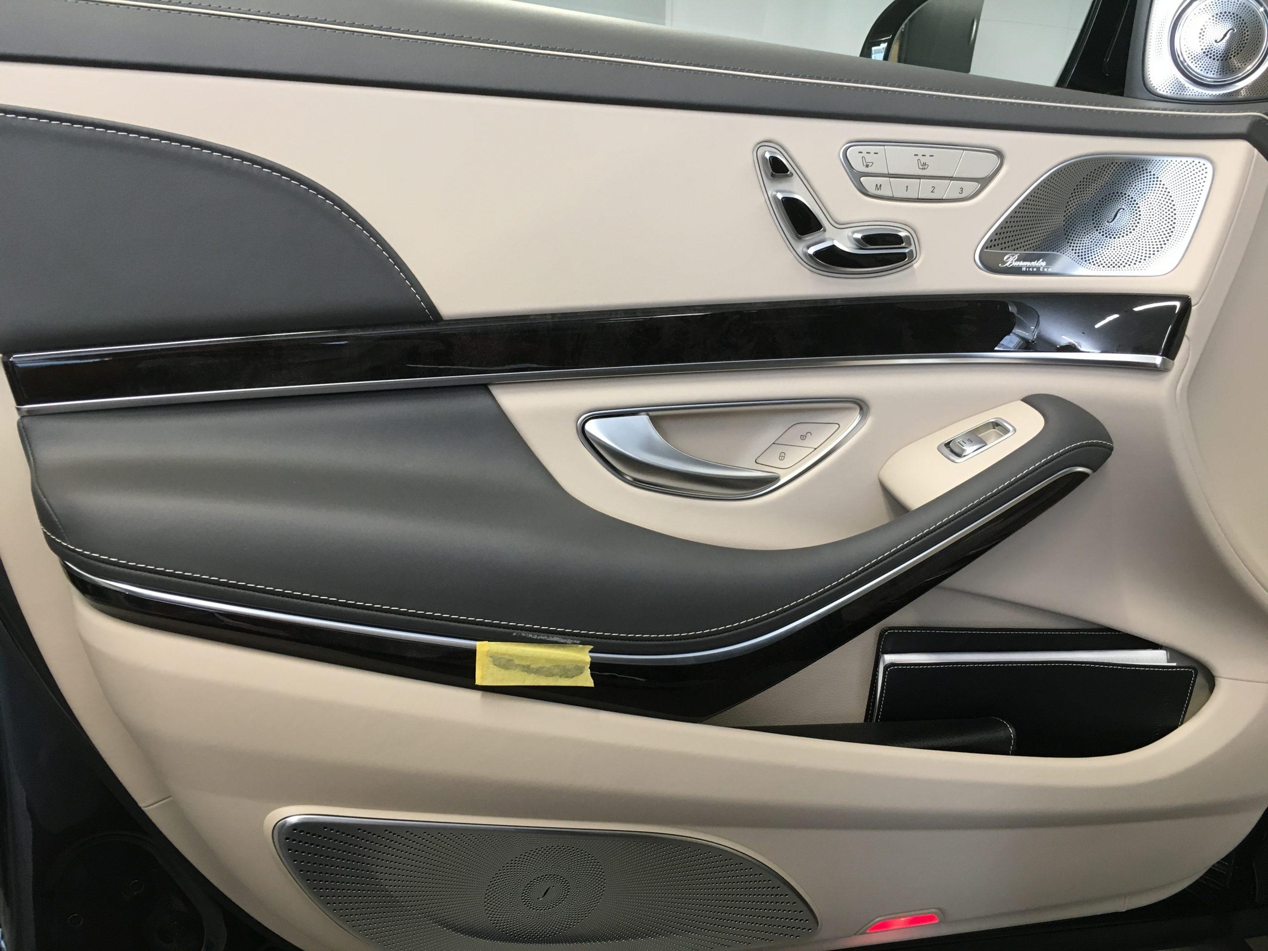 メルセデス・マイバッハ S560 ドアトリム傷補修|東京 品川区