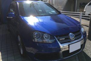 VWゴルフ R32 シフトパネル&ノブ補修|東京 世田谷区