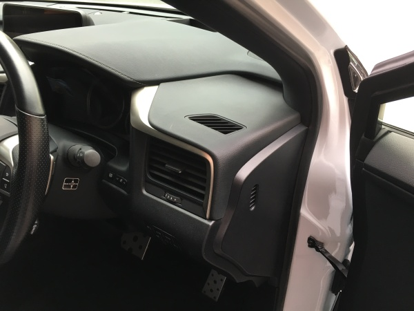 レクサスRX450 ドアトリム焦げ穴補修|東京 江戸川区