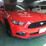 フォード マスタング 内装 ピラー傷補修|東京 世田谷区