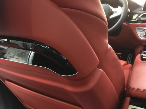 BMW M760Li レザーシート傷補修|東京 目黒区