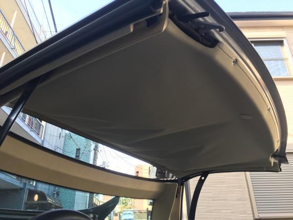 ベンツSLK320 天井張替え|東京 新宿区