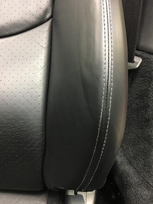 ポルシェ911カレラS Type-997 レザーシート擦れ補修|東京 世田谷区