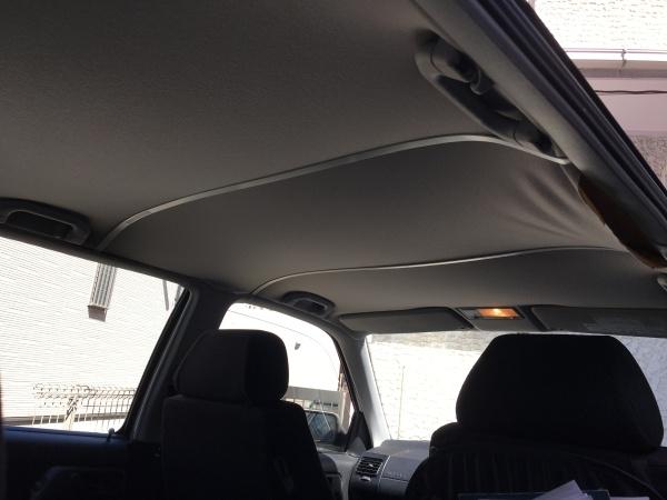 VWゴルフGTI 天井張替え|東京 新宿区