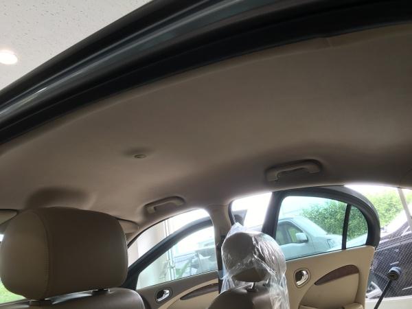 ジャガーSタイプ 天井垂れ・剥がれ 修理|東京 世田谷区