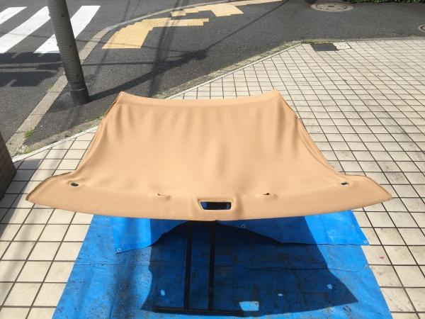 ポルシェケイマン 天井ライナー張替え|東京 世田谷区