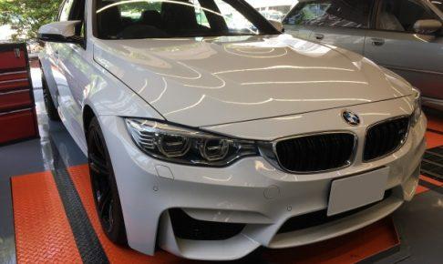 BMW M3 レザーシート傷補修|東京 江東区