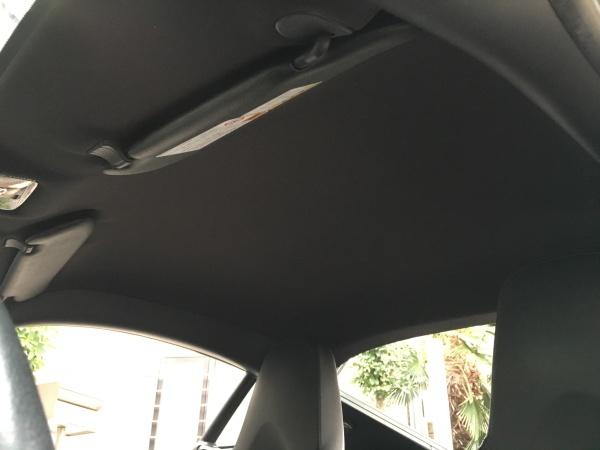 ポルシェケイマン 天井 剥がれ 垂れ 張替え 断熱材|東京 新宿区