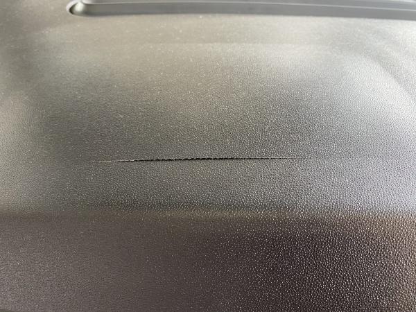 フィアット500 ダッシュボード割れ補修|東京 世田谷区
