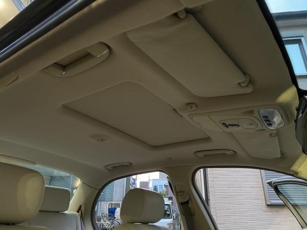 ジャガーXJ 天井 サンルーフボード 剥がれ 垂れ 張替え|東京 品川区