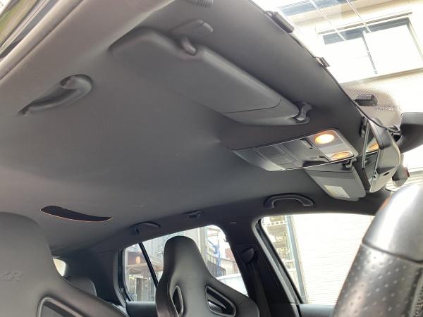 VWゴルフR32 天井 垂れ 剥がれ 張替え 東京 新宿区