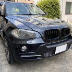 BMW X5 天井 剥がれ 垂れ 張替え|東京 新宿区