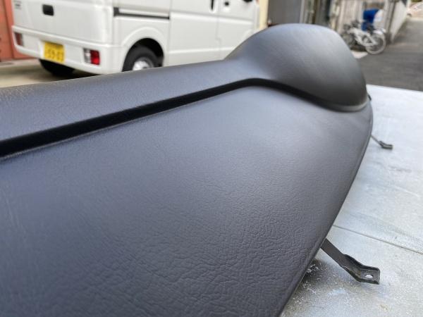 ポルシェ911 type-964 ダッシュボード 表皮欠損 補修|東京 世田谷区