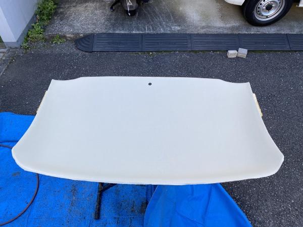 ベンツSLK230 天井 剥がれ 垂れ 張替え|東京 新宿区
